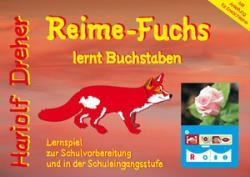 Reime-Fuchs lernt Buchstaben